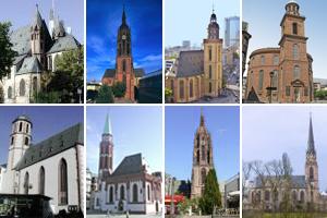 Frankfurt religiös - Kirchen & Klöster in Frankfurt