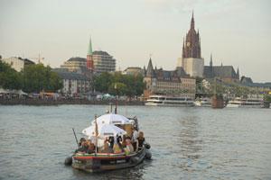 Frankfurt auf dem Main - Bootstour mit der Barkasse