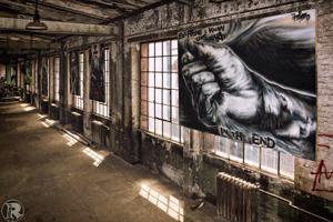 Graffiti & Streetart der Mainmetropole - Hinter den Kulissen der NaXos-Halle