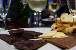 Schokolade & Wein - Erlebniswanderung mit Weinprobe an der