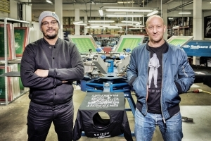 Frankfurt auf dem T-Shirt - Der Siebdruck-Workshop bei Monkeydrive