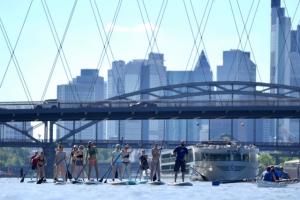 Stand up Paddling (SUP) auf dem Main- Das einzigartige Wassersport-Event in Frankfurt