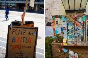 Nika, Blockupy, Frankfurter Hauptschule, Institut für vergleichende Irrelevanz...
