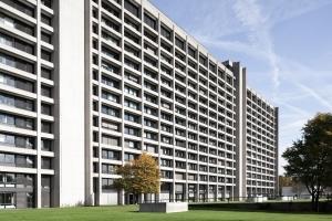 Frankfurts Banken & Hochhäuser Inside: Die Zentrale der Deutschen Bundesbank - Kunst & Architektur
