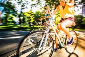 Fahrradtour durch die Innenstadt von Frankfurt (Fotonachweis: itsskin)