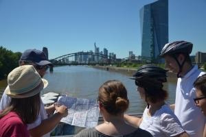 Fahrradtour im Ostend Frankfurt