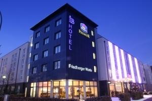 Die Außenansicht des Best Western Hotels Frankfurt