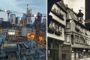 Die Baustelle DomRömer - Ein exklusiver Blick hinter den Bauzaun in Frankfurts Altstadt