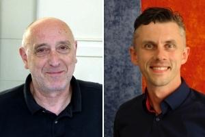 Rainer Weiss von weissbooks und Nils Bremer von Journal Frankfurt