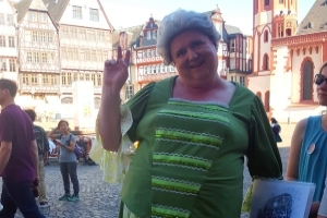 Bäppi la Belle auf Altstadt-Tour