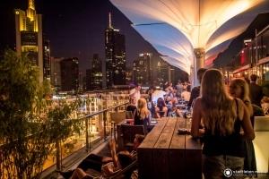 Skyline Feier!Abend - Afterwork-Party über den Dächern Frankfurts