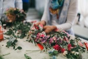 Flowercrowns zaubern - Der Blumenkranz-Workshop