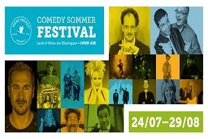 Comedy Sommer Festival - Lach & Wein im Rheingau 2021!