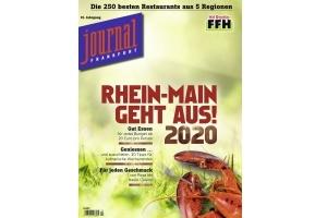 Sonderheft RHEIN-MAIN GEHT AUS! 2020 - Der Restaurantführer für das Rhein-Main-Gebiet