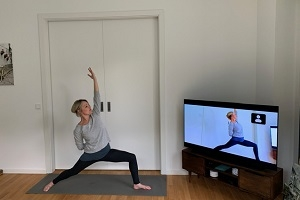 OMline Yoga - Trainieren von zu Hause
