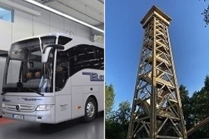 Stadtwald & der neue Goetheturm - Die Busrundfahrt zum beliebten Wahrzeichen