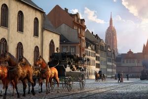 Von früher bis heute - Frankfurt mit TimeRide & Christian Setzepfandt erleben