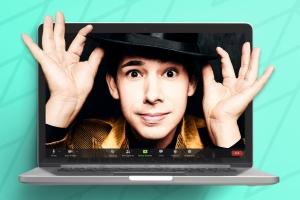 Zauberer Alexander Merk präsentiert: Magische Online Show