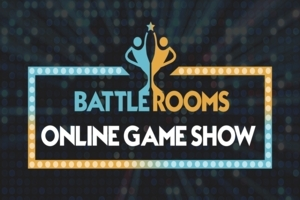 4er-Bundle Ticket für die Battle Rooms - Online Game Show: Die wohl spannensten 90 Minuten im Quiz-Show-Format