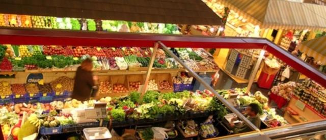 Feinschmeckerei in der Kleinmarkthalle