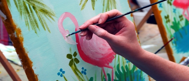 Einmal malen wie Monet & Picasso!